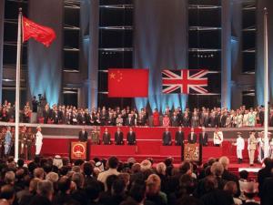 July 1997- Hong Kong handover