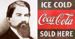 John Stith Pemberton 'invented' Coca-Cola in 1886