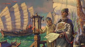 Admiral Zheng He and his fleet of 300 ships. Source- Caravan Daily